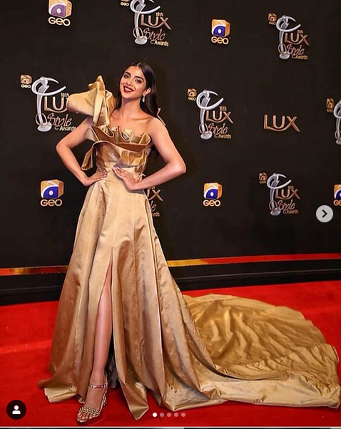 Sonya Hussain at LUX STYLE awards 2019
