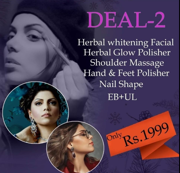 deal 2 from Hadiqa Kiani salon faisalabad