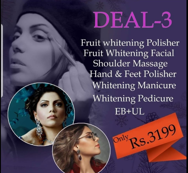 deal 3 from hadiqa kiani salon facials