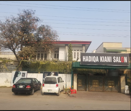 Hadiqa Kiani salon House 107 BLOCK A People's Colony near small D ground Faisalabad