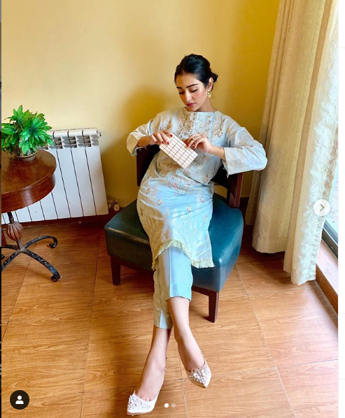 sara khan on eid ul adha 2019