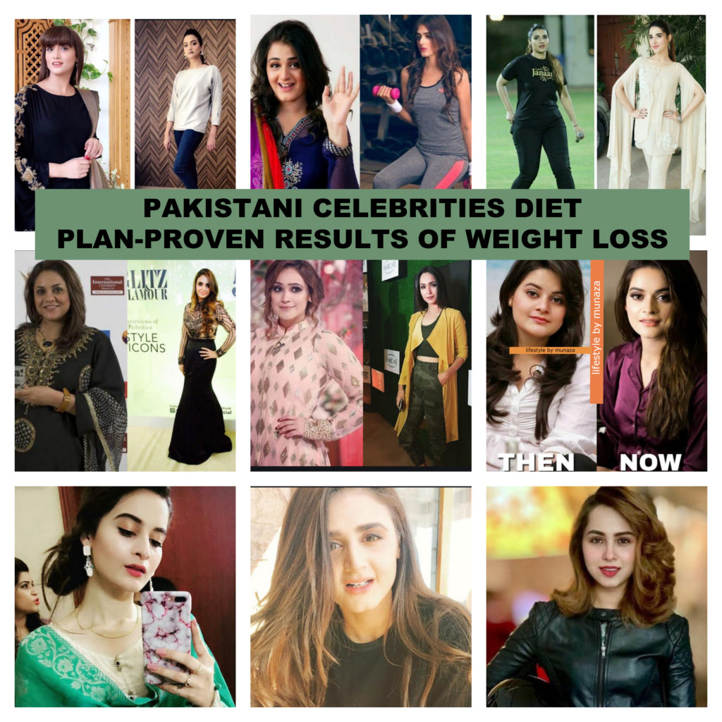 weight loss meal plan of Pakistani celebrities