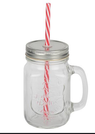 mason jar for flat tummy or flat belly