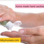hand sanitizer, home made recipe