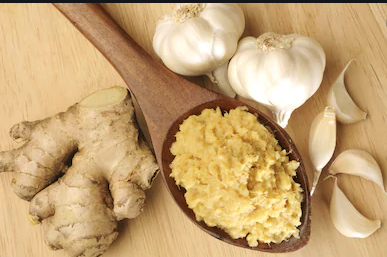ginger and garlicto boost immune system