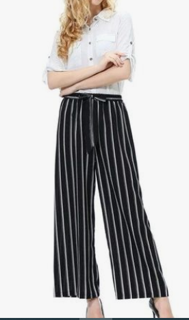 loose striped trouser-shalwar trouser