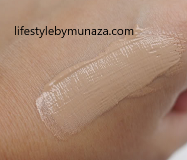 Swatches of Maybelline bb cream