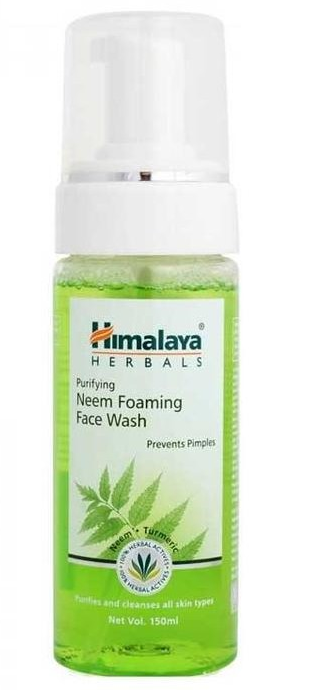 foaming cleanser by Himalaya herbals