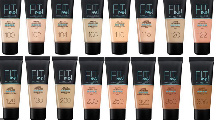 aybelline Fit Me Matte Poreless Liquid Foundation- BEST AND AFFORDABLE FOUNDATIONS