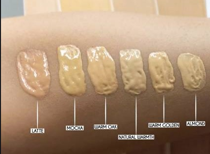 swatches -Silk Foundation by Masarrat Misbah Makeup-BEST AND AFFORDABLE FOUNDATIONS