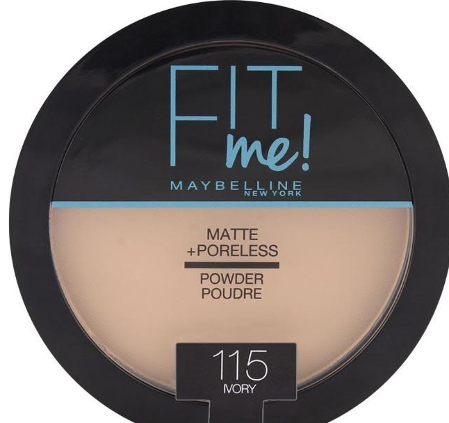 Maybelline Fit Me Matte+Poreless powder. face powder