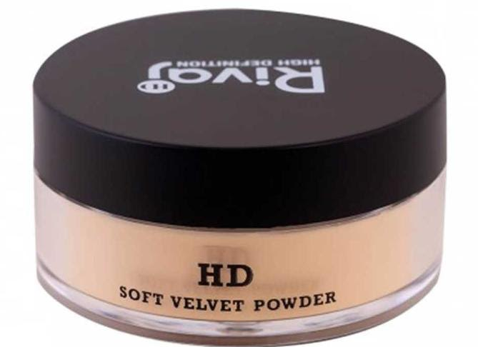 RIVAJ HD Soft Velvet Powder. face powder