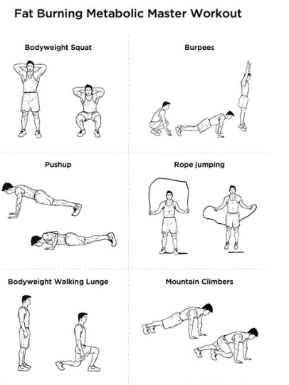exercise to reduce 10kg weight